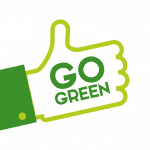 Go Green and Save Pounds